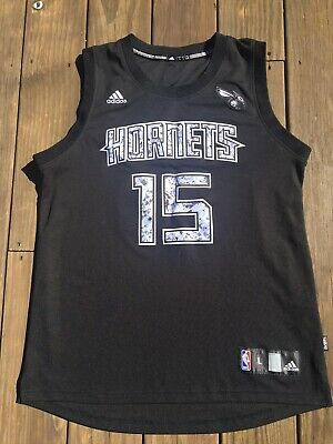 fb836be0795 NBA Jersey Charlotte Hornets Kemba Walker Alternate Black Jersey Sz Large