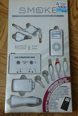 iPod Nano Accessory Kit Brand New Sealed 9 Piece NIB