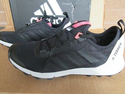 reputable site 86e53 2f00a NWT Womens Adidas Terrex Speed Agravic Black Athleta 8.5 W Hiking Sport  Sneaker