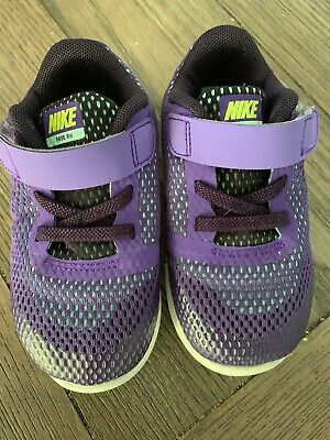 new product 4df09 e7b79 Nike FREE RN Toddler Girls Shoes 904261-001 Size 8c EUC