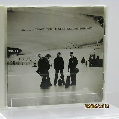 """Listing is for the U2 CD """"All That You Can't Leave Behind"""""""
