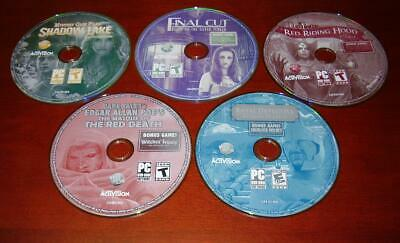 9 Hidden Objects PC Games Dark Tales Edgar Allan Poe's The Masque of Red Death +