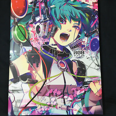 japan Anime Hatsune Miku Graphics Art Book Vocaloid Unofficial Illustrations Price Guides & Publications