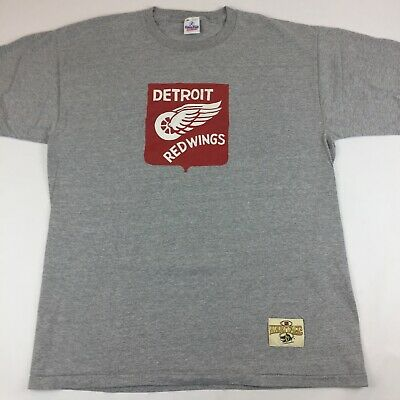 ade9657c7a4 Ebbets Field Flannels Detroit Red Wings Retro T-Shirt XL X-Large NHL  Heritage
