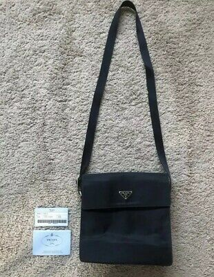 0808ec72a502 AUTHENTIC BLACK PRADA Fanny Pack Bum Bag - $500.00 | PicClick