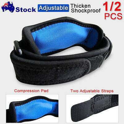 NEW Adjustable Tennis&Golf Elbow Support Brace Strap Band Forearm Protection AU