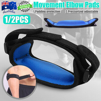 NEW Adjustable Tennis&Golf Elbow Support Brace Strap Band Forearm Protection OZ