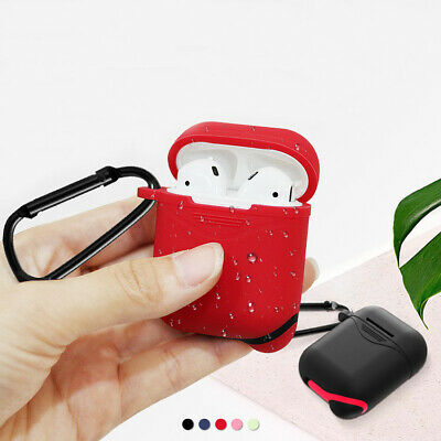 Water Resistant Shockproof Protect Cover Case for Apple AirPods1/2 Charging Case