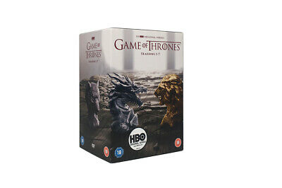 GAME OF THRONES Season 1-7 Box Set Complete Series 1 2 3 4 5 6 7 NEW DVD