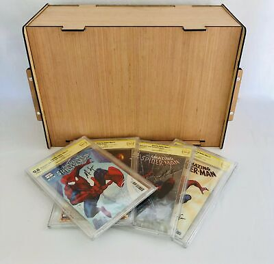 CGC - CBCS - PGX Slabbed Comic Book Storage Box Stores & Protects Valuable Comic