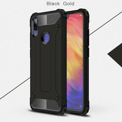 Shockproof Hybrid Armor Hard Case Rugged TPU Bumper Cover For Xiaomi Redmi Note7
