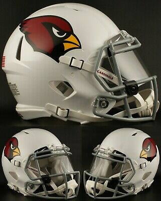 9c670e2a VINTAGE RIDDELL 1960'S Arizona Cardinals NFL Football Helmet Large 7 ...