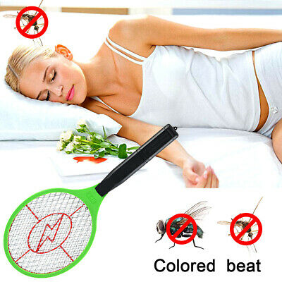 Electric Hand Held Bug Zapper Insect Zapper Fly Swatter Racket Mosquito Killer V