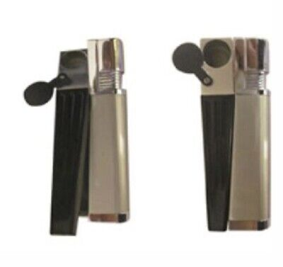 Built In Pipe With Wind Proof Lighter 9cm - Smoking Cigarette Hookah Tobacco