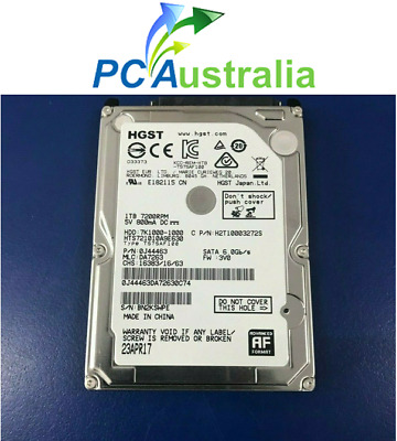 Hitachi HDD 2.5-inch 1TB Hard Drive  7200 RPM (H2T10003272S) 9mm internal HDD