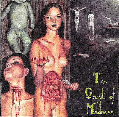 Crypt of Madness CD w/ Corpsegrinder (Cannibal Corpse) & Brunelle (Morbid Angel)