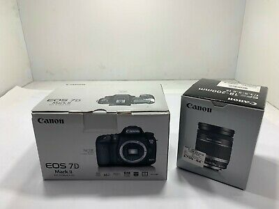 Canon EOS 7D Mark II Camera Body with Canon EFS 18-200mm f/3.5-5.6 IS Lens