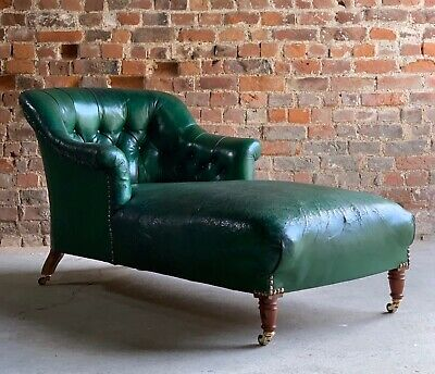 Antique Daybed Chaise Longue French 19th Century Napoleon III France circa 1860
