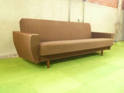 SB100 - Sofa Bed Day Bed Mid-Century Danish Modern Studio Couch Vintage Retro