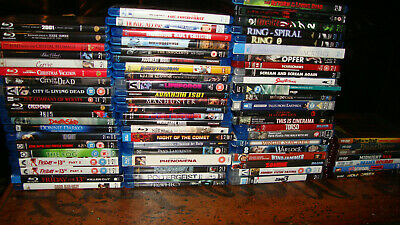 Blu-Ray Collection. 35 Films. Pick and Choose. Horror, Comedy, Drama, Arthouse.