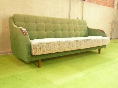 SB101 - Sofa Bed Day Bed Mid-Century Danish Modern Studio Couch Vintage Retro