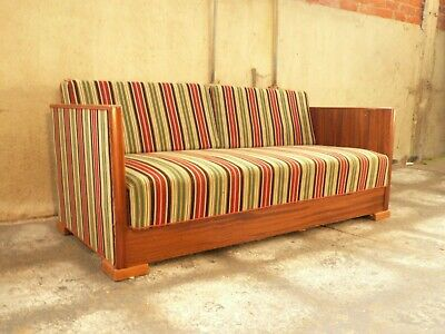 SB103 - Sofa Bed Day Bed Mid-Century Danish Modern Studio Couch Vintage Retro