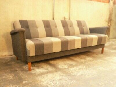 SB109 - Sofa Bed Day Bed Mid-Century Danish Modern Studio Couch Vintage Retro