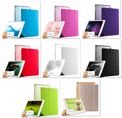 Smart Apple iPad case cover Stand & Magnetic close pu Leather All Models from UK