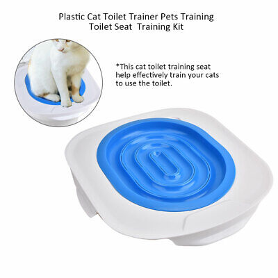 Cat Toilet Litter Tray Training Potty Urinal Kitten Pet Trainer Cleaning Supply