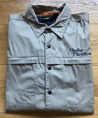 Harley-Davidson Short Sleeve Mechanic Shirt (XL)