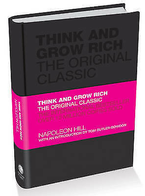 New Think and Grow Rich: by Napoleon Hill (Hardback)Free Postage