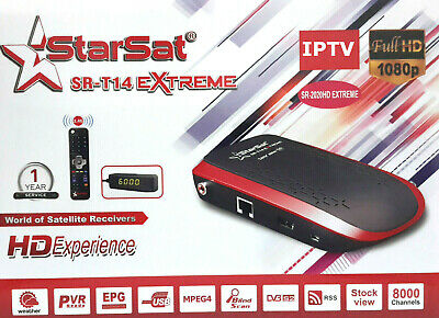 Starsat sr-2020HD Extreme receiver +Forever server +SSTV +Apollo +vod +youtube
