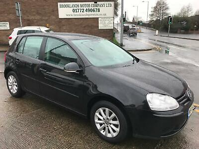 08 Volkswagen Golf 1.9 Tdi Match In Black,One Owner,Full Service History