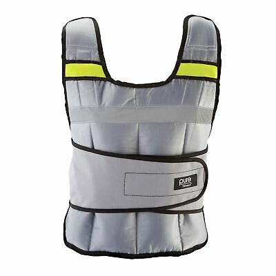 Pure Fitness Adjustable Weighted Vest, 20-pound