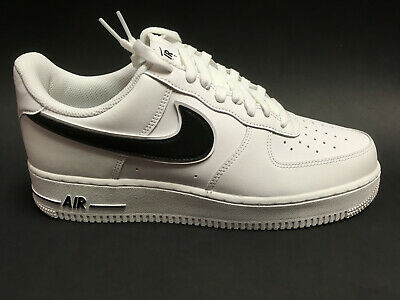 buying new best prices shades of NIKE AIR FORCE 1 '07 Herren Sneaker weiss-schwarz AO2423 101 ...