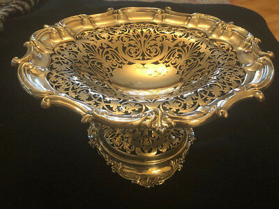 Mappin & Webb Sheffield England 1901 Sterling Silver Compote