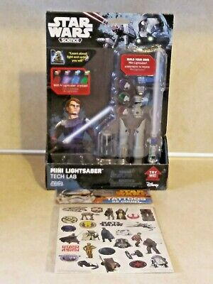 Disney Star Wars Science Build Your Own Mini Lightsaber 4 Colors & Tattoos