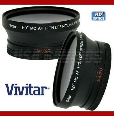 58mm Wide Angle Lens With Macro HD4 For CANON 30D 40D 50D 60D 550D