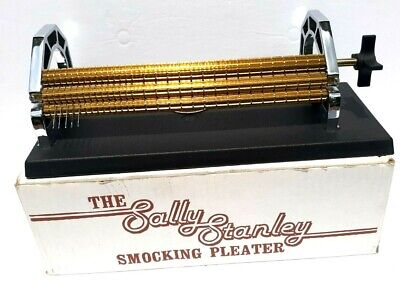 THE DURAND 24 Row Smocking Pleater With Extras & C-clamps
