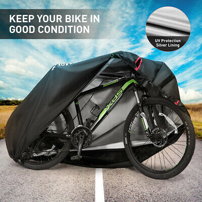 Large Waterproof Dust Bike Cover Outdoor Protector Bicycle Scooter Motor Cover