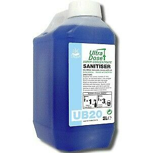 Clover UB20 Sanitiser Concentrate 2L