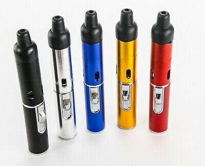 5 pack, Portable Metal All in One Pipe, Click-n Hit, one each Color
