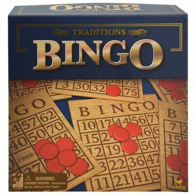 Traditions Bingo Set, Multiplayer Board Game - For Children Teens Adults
