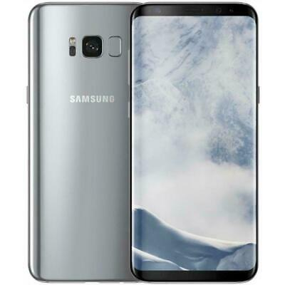 NEW Samsung Galaxy S8 SM-G950U 64GB Silver GSM Factory Unlocked T-Mobile AT&T