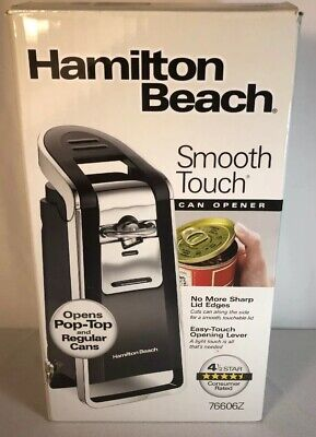 Hamilton Beach 76606 Smooth Touch Can Opener New Open Box (P)