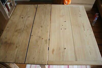 Antique Stripped Pine Drop Leaf Table
