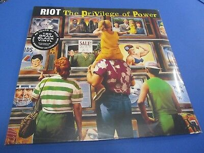 Riot The Privilege Of Power Vinyl Sealed Collectors Edition 500 Copies Metal Lp