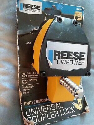 Reese Towpower 7066900 Professional Universal Coupler Lock