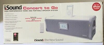 iSOUND Concert to Go for all iPod models