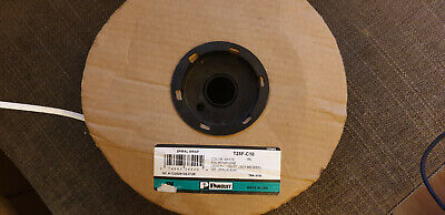 PANDUIT  T25F-10C  SPIRAL WRAP, NAT, 6MM, 30.5M White